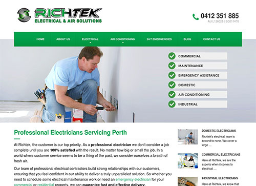 RichTek Electrical Chooses Slinky Digital